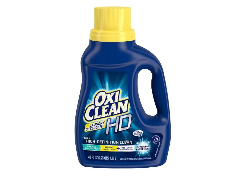 In-store: OxiClean HD 40oz laundry detergent for $0.99