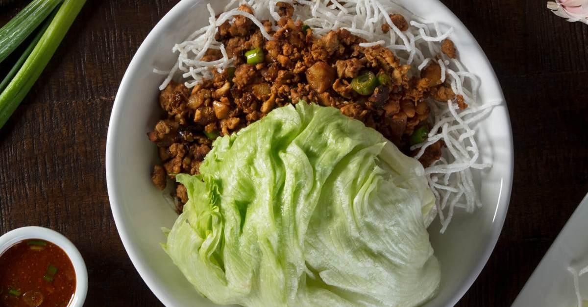 Today only: Free P.F. Chang's lettuce wraps with entrée purchase