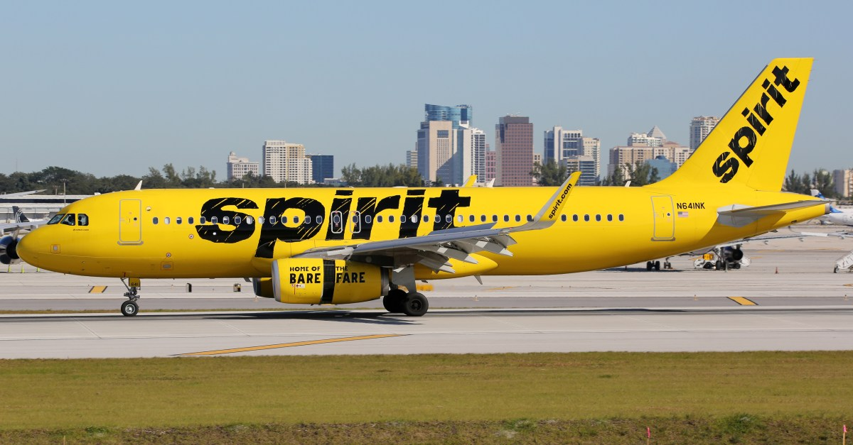 Today only: Spirit flights from $52 one-way