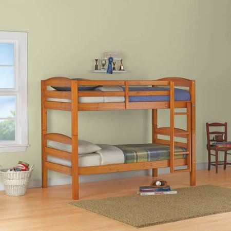 Better Homes and Gardens Leighton twin wood bunk bed for $159