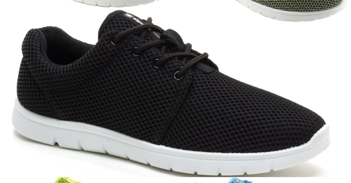 Alpine Swiss Kilian mesh sneakers for $15, free shipping