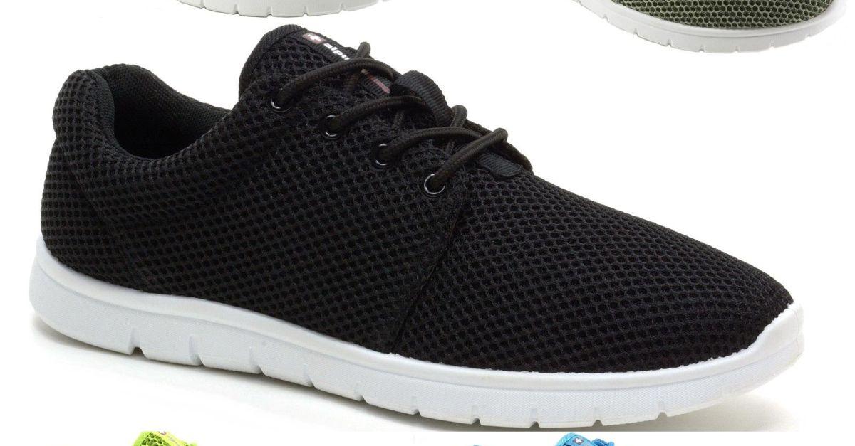 Alpine Swiss Kilian mesh sneakers for $18, free shipping