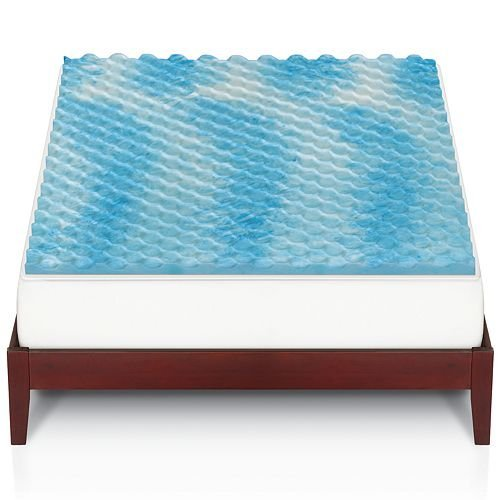 The Big One gel memory foam mattress topper for $26