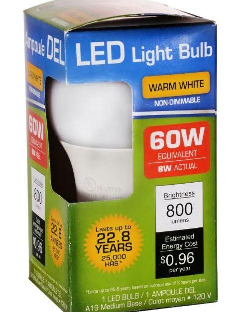 🔥 In store: LED lightbulbs for $1 at Dollar Tree
