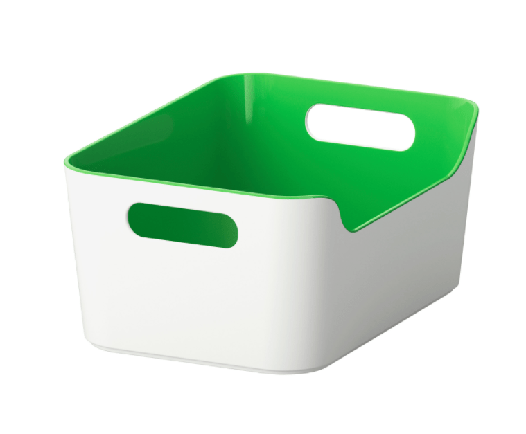 Ikea Variera storage box in 3 colors for $3 each