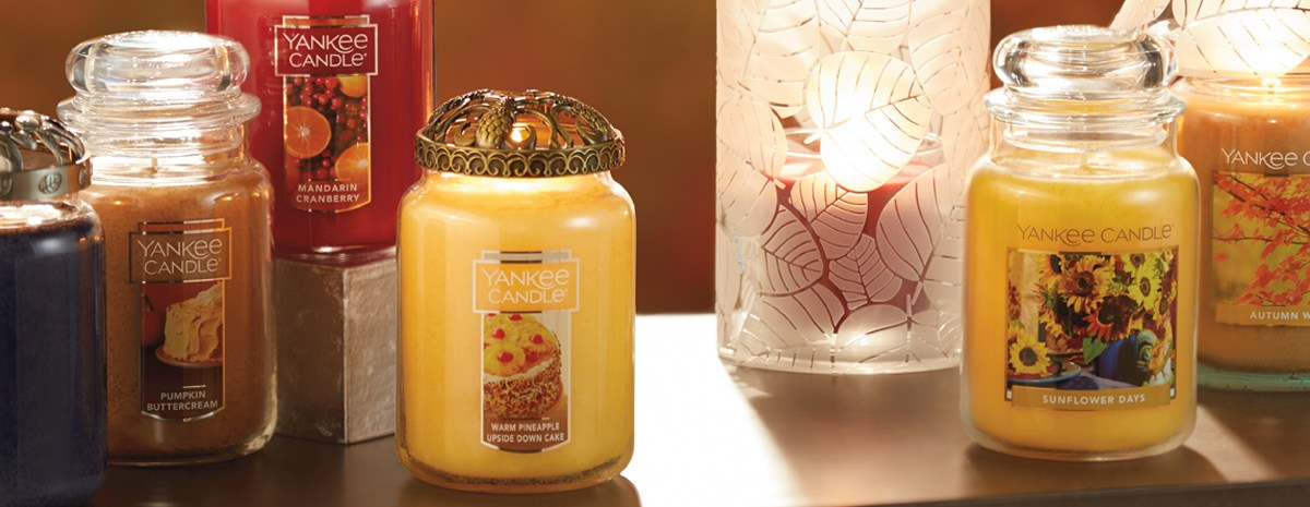 Yankee Candle: Buy 2 candles, get 2 FREE