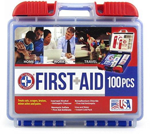 100-piece first aid kit under $9
