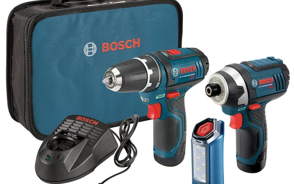Today only: Bosch 12V 2-tool combo kit with 2 batteries for $129