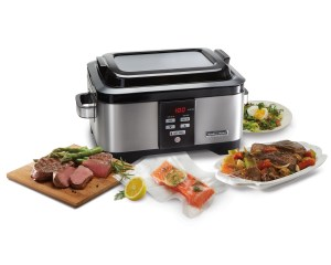 Hamilton Beach 6-quart slow cooker and sous vide water oven