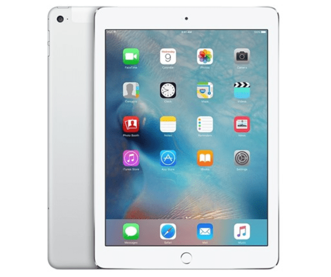 Today only: Refurbished Apple iPad Air 2nd gen 64GB Wi-Fi + cellular tablet for $260