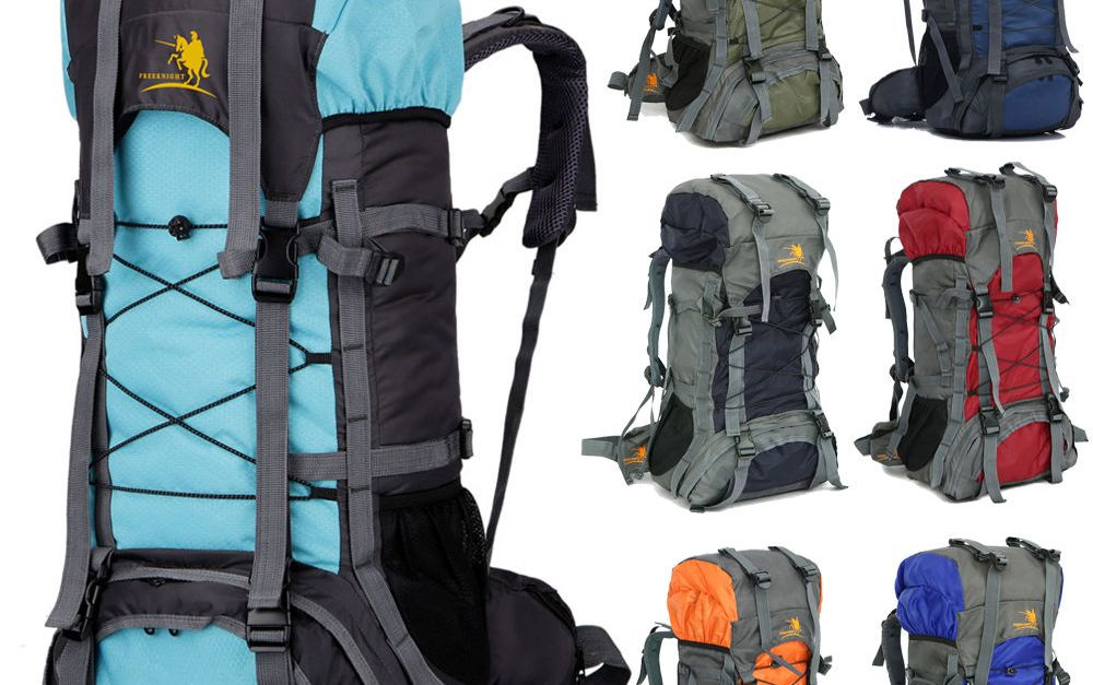 60L camping travel backpack for $21, free shipping