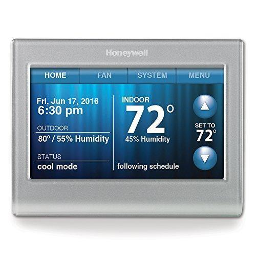 Honeywell smart Wi-Fi 7-day programmable color touch thermostat for $120