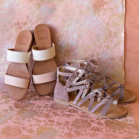 Save up to 78% on women's sandals at 6pm