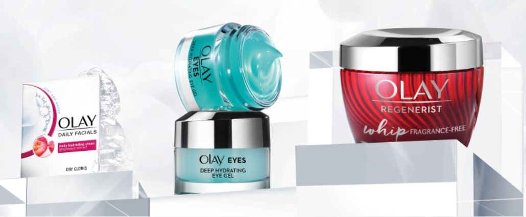 FREE sample of Olay Regenerist Whips plus Deep Hydrating eye gel & Daily Facial cleansing cloths