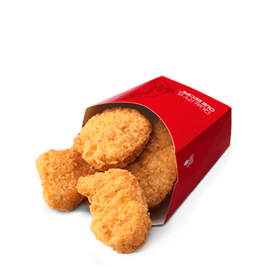 Get A FREE 4-piece Chicken Nuggets With Any Purchase At