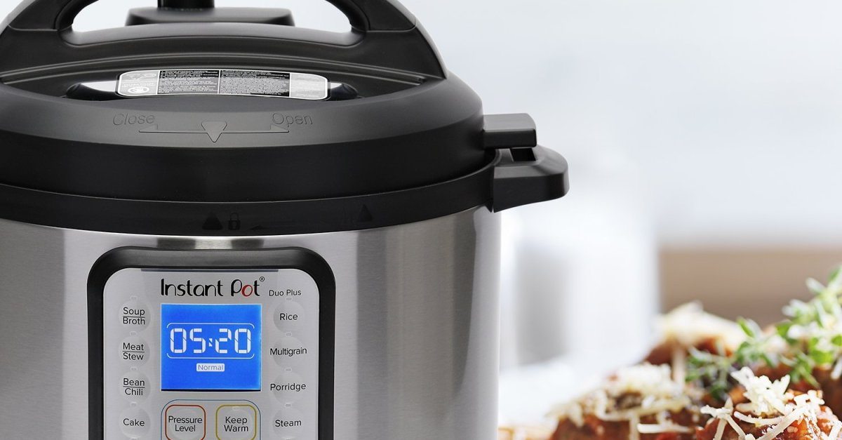 Today only: Instant Pot Duo Plus 6-quart 9-in-1 electric pressure cooker for $80
