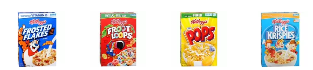 Get two boxes of Kellogg's cereal for $3