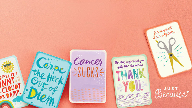 Get a FREE greeting card at Hallmark stores for Free Card Fridays!
