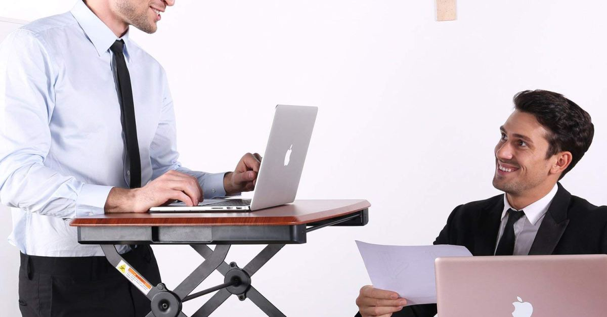 Today only: Eureka standing desks from $147
