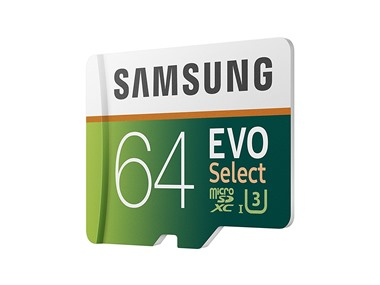 Limited quantities: Samsung EVO Select 64GB MicroSDXC card for $1 at Woot