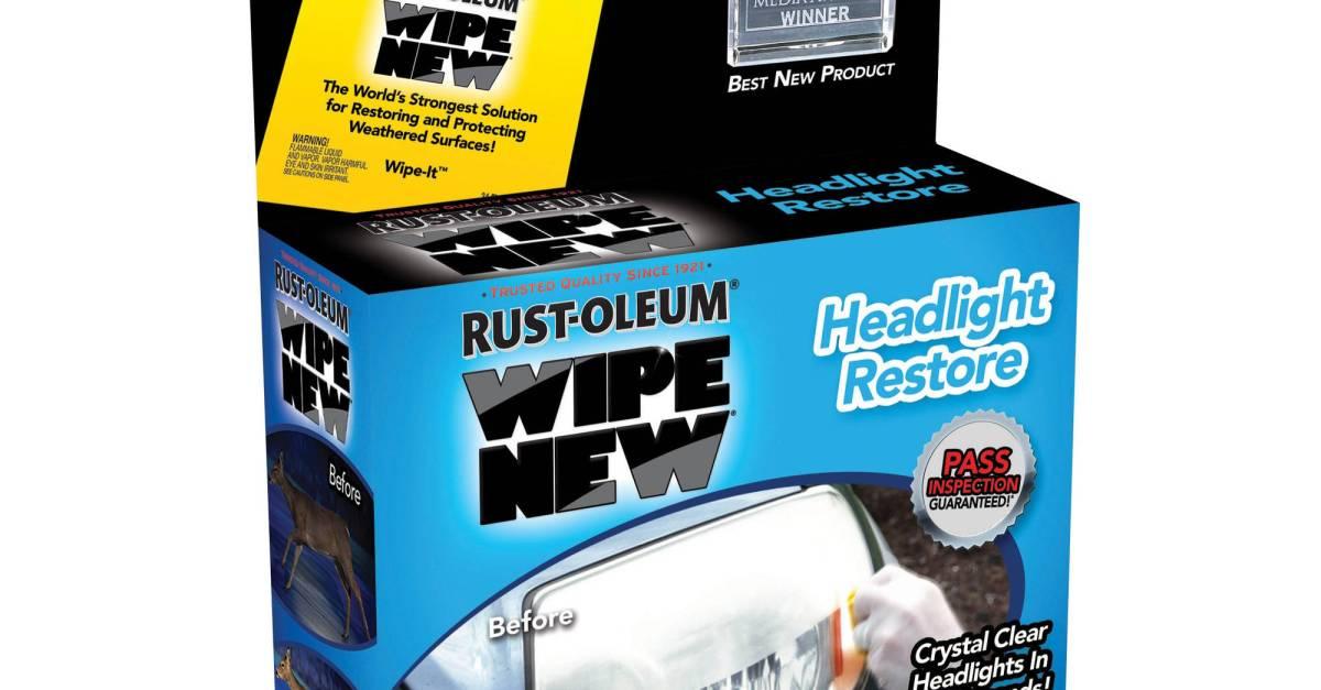 Headlight restore kit for under $6 at Walmart