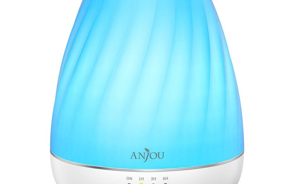 Anjou essential oil diffuser aromatherapy cool mist humidifier for $9
