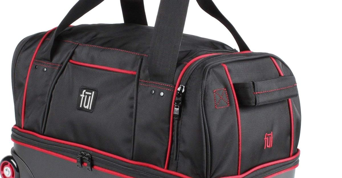 Today only: FUL Flex Mini hybrid rolling 21″ carry-on duffel for $39 shipped