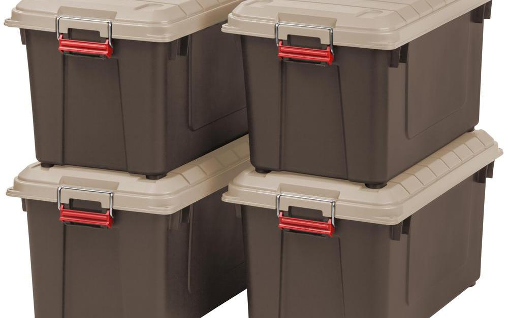 Today only: Storage items from $10 at The Home Depot
