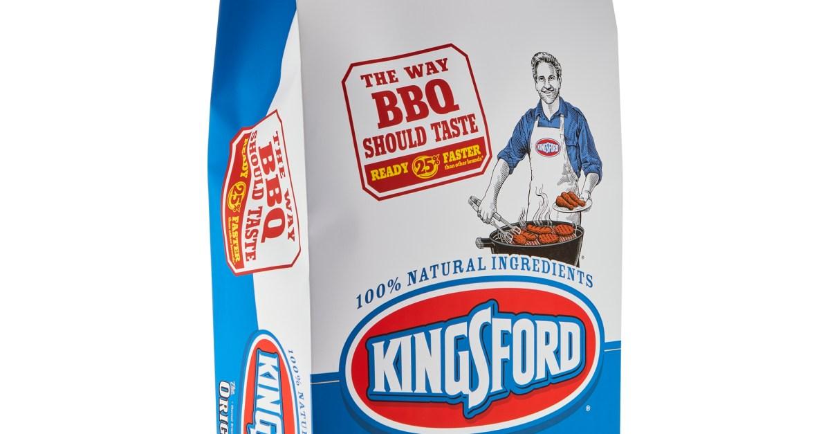 Kingsford original charcoal briquettes 15.4-lb bag for $8