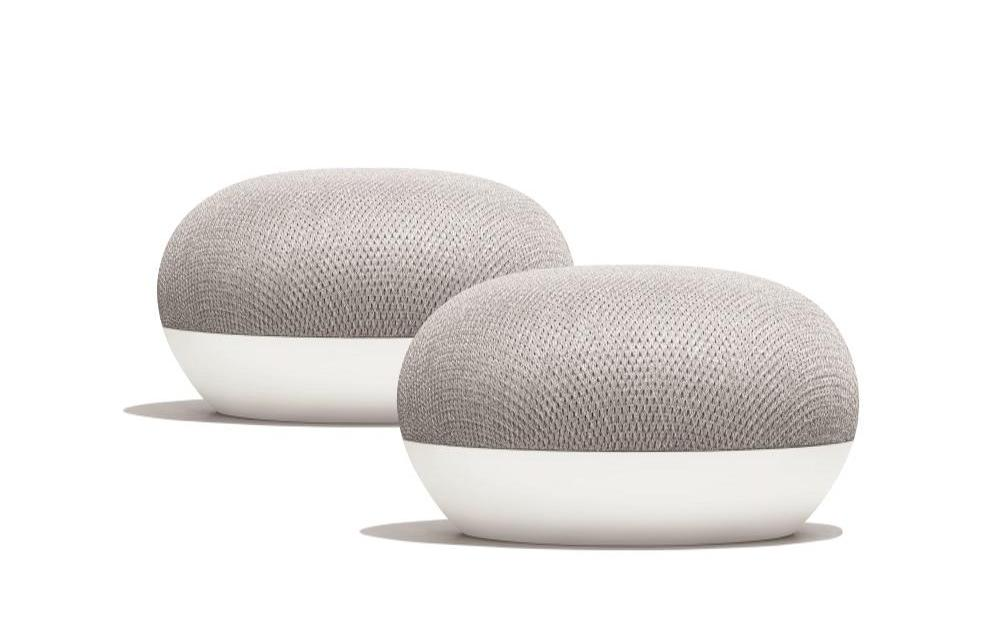 Today only: 2-pack Google Home Mini for $50