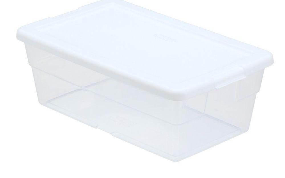 🔥 Sterilite 6-quart storage box for $0.98