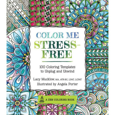 FREE adult coloring book by Zen Coloring Books