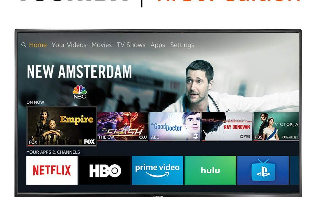 Toshiba 43″ 4K Ultra HD smart Fire LED TV with HDR for $200