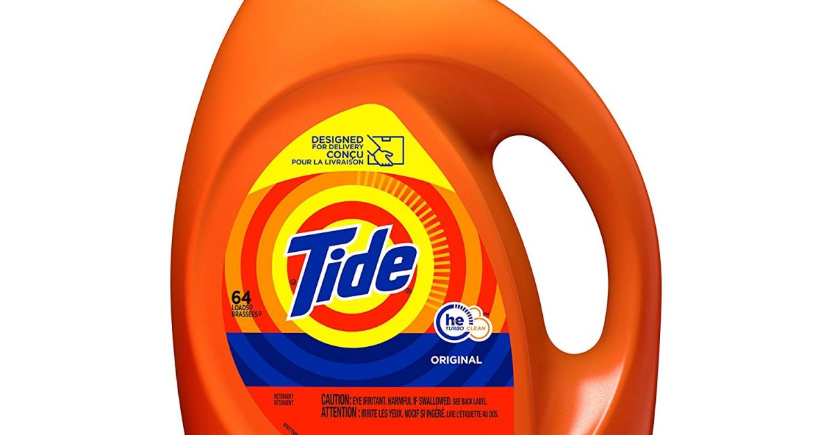 3-pack 100oz Tide HE Turbo Clean liquid laundry detergent for $26