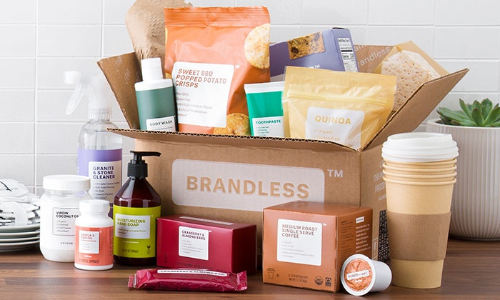 Save 50% on Brandless via Groupon