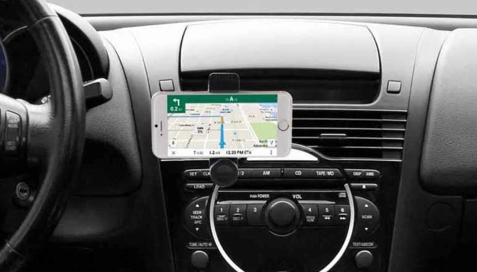 Vivitar car cell phone mount for $3 at Google Express