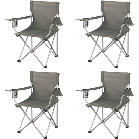 Set of 4 Ozark Trail regular arm chairs for $27