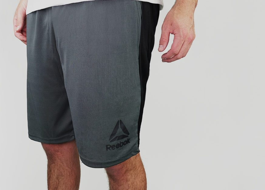 Reebok men's Contrast shorts for $9, free shipping