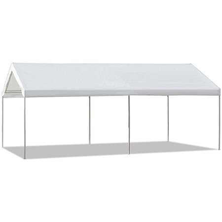 Caravan Canopy 10'x20′ straight leg domain carport for $80