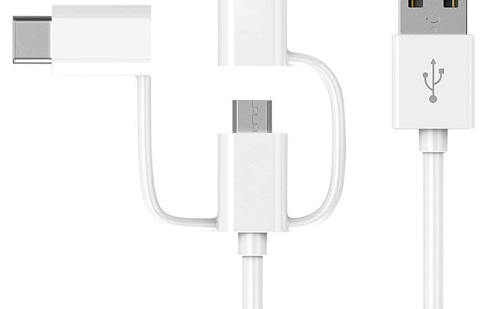 IQIYI MFi Certified 3-in-1 USB charging cable for $6 with promo code