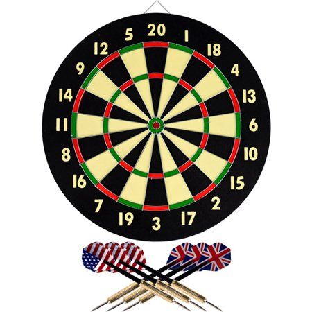 Trademark Games dartboard set for $8