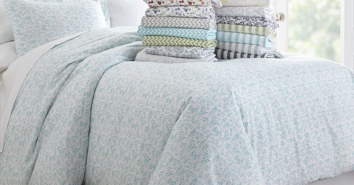 Home Collection 3-piece pattern duvet cover sets from $19, free shipping