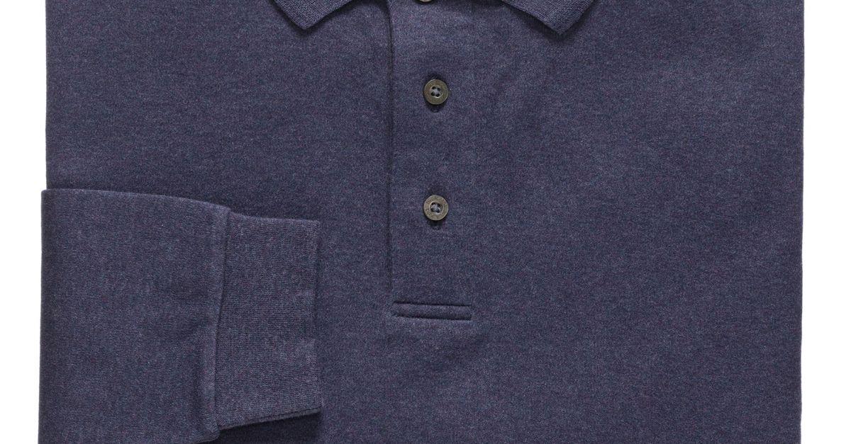 Jos. A. Bank long sleeve polo for $14
