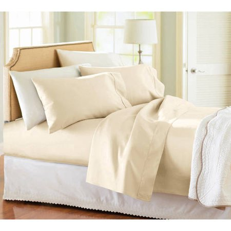 Better Homes and Gardens 100% cotton king sheet set for $14
