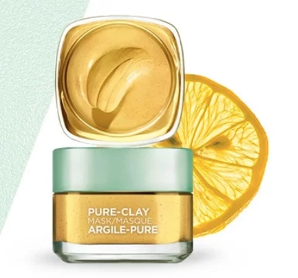 FREE sample of L'Oreal Pure-Clay mask