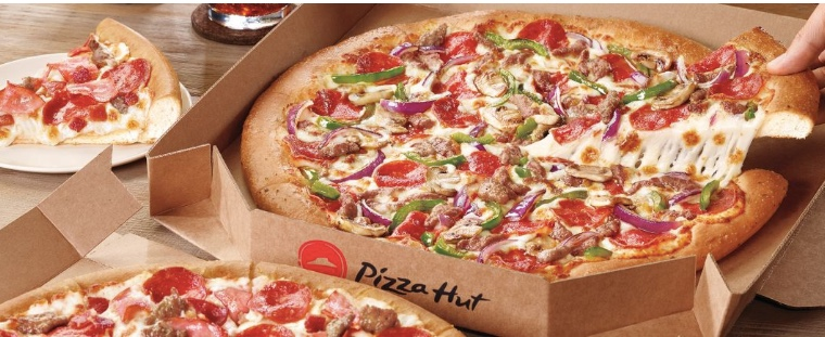 Pizza Hut: Save $5 on an order of $25 or more through Visa Checkout