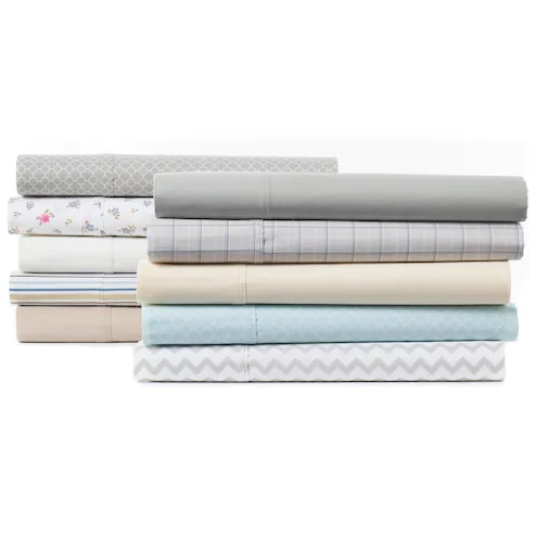 The Big One Easy Care 257 thread count sheet sets from $18