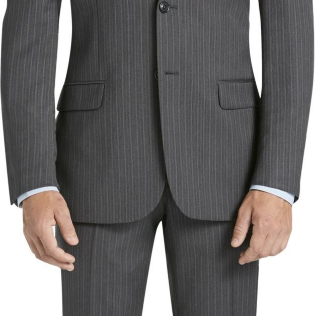 Joseph Collection slim fit stripe suit for $80, free shipping