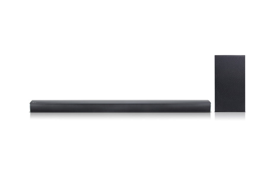 Today only: Refurbished LG 2.1 channel 300W sound bar with subwoofer for $80