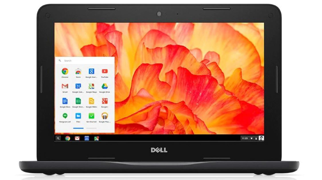 Dell 11.6″ Inspiron Chromebook with 4GB memory for $127